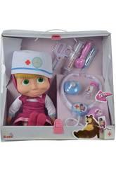 Ärztin Masha mit Koffer und Accessoires Simba 9306542