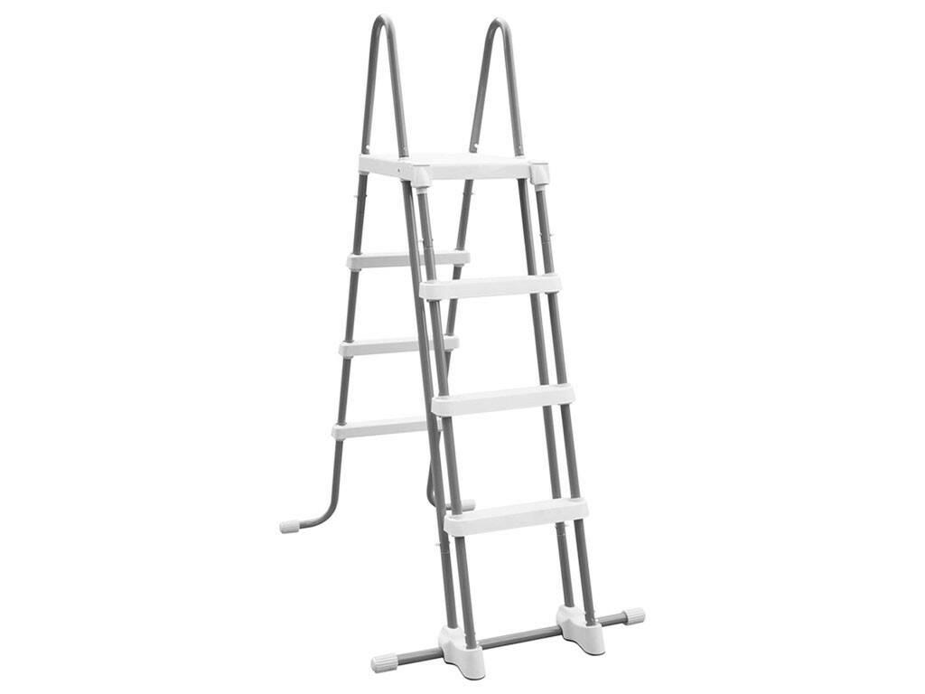 Escalera de Seguridad para Piscinas de 122 cm. Intex 28076
