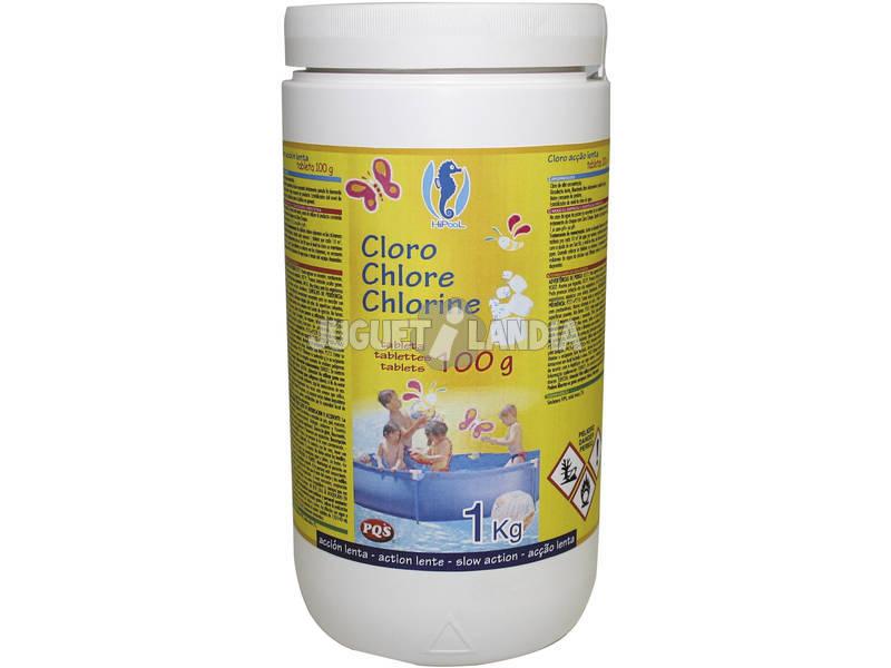Cloro HIP Disolucion Lenta 90% 1Kg. PQS 166522