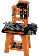 Black and Decker Werkbank Mechaniker 27 Teile Simba 2305