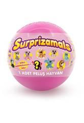 Suprazimals Serie 1 Bola con Peluche Sorpresa de 6 cm. Beysal SUR10113