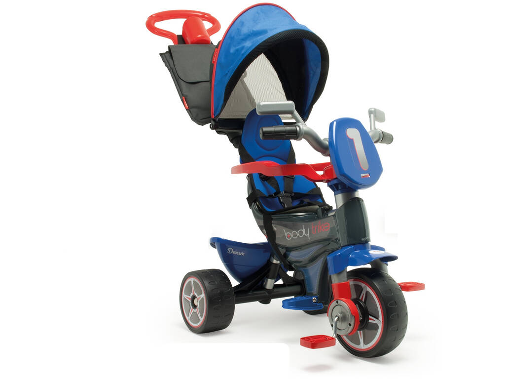 Triciclo Evolutivo Body Max Denim Injusa 3255