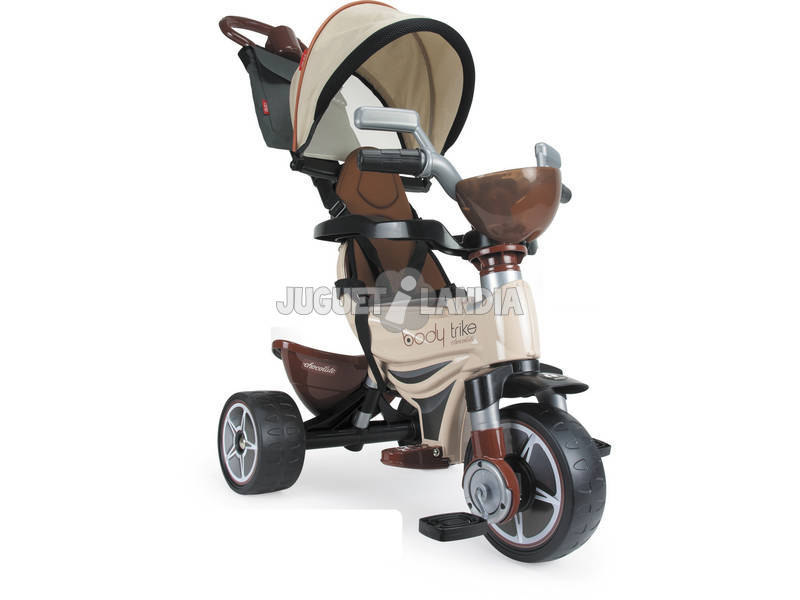 Triciclo Evolutivo Body Max Chocolate Injusa 3256