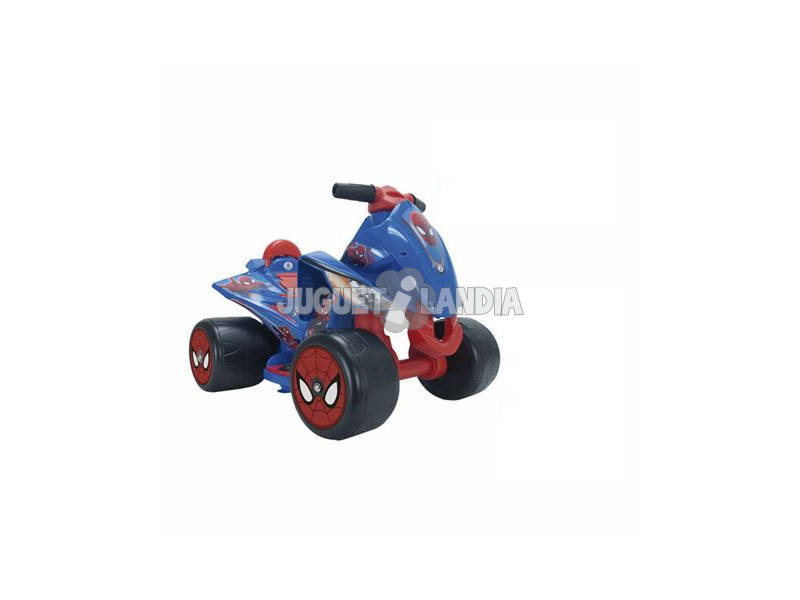 Quad Spiderman 6V. Injusa 72460