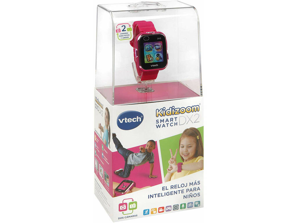 Kidizoom Smart Watch DX2 Frambuesa Vtech 193847