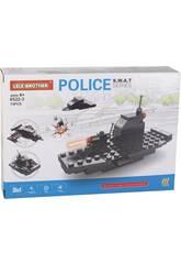 imagen Vehículos de Guerra Policía S.W.A.T Bloques de Construcción 74 Piezas