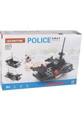 imagen Bateau De Police S.W.A.T Blocs de Construction 69 Pièces