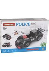imagen Vehículo de Acción Policía S.W.A.T Bloques de Construcción 74 Piezas