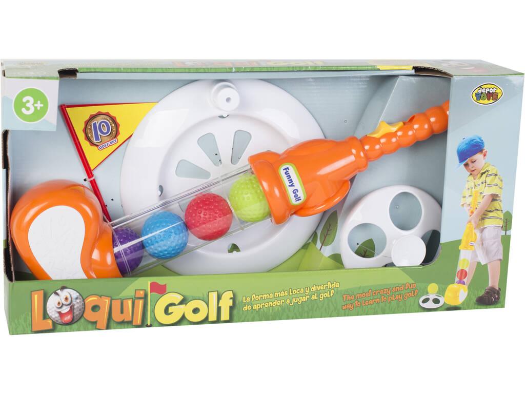 Set Golf Loqui da 8 pezzi