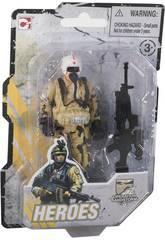 imagen Muñecos Heroes Operation Sandstorm 9 cm.
