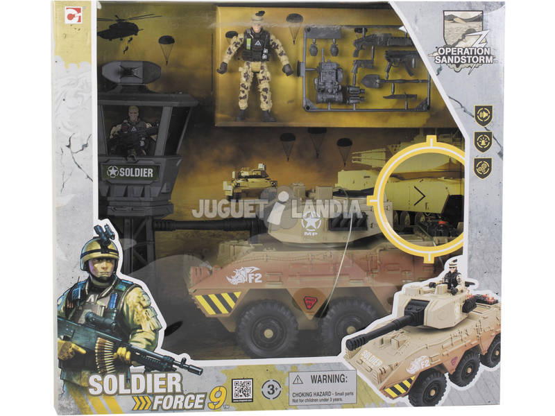 Tanque Soldier Force 9 Operation Sandstorm