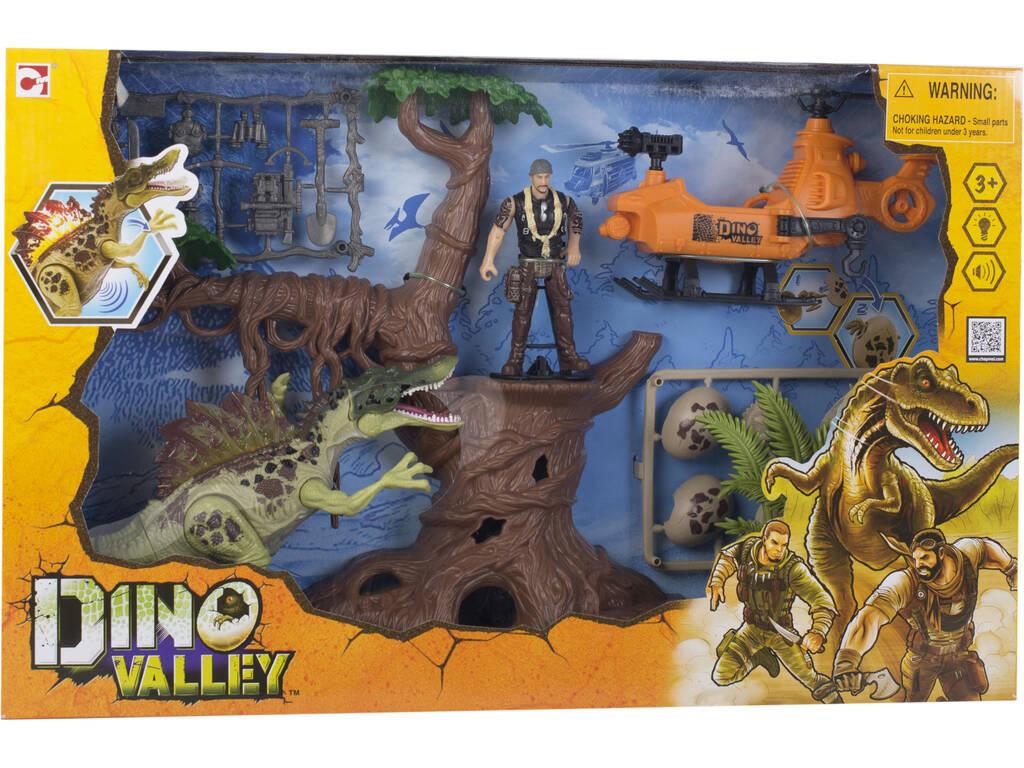 Dino Valley Ataque do Dinossauro na Selva