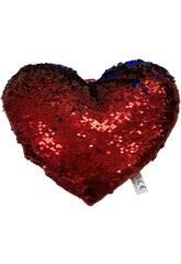 imagen Cojín Corazón Lentejuelas 30 cm. Llopis 18171