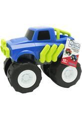 imagen Monster Truck Azul de 23 cm.