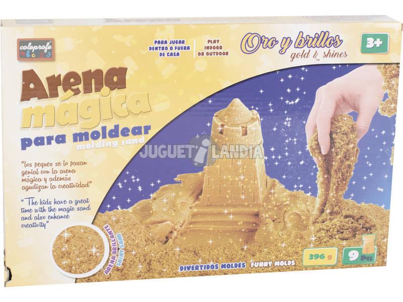Arena Mágica 396 gr. con Accesorios Golden Magic