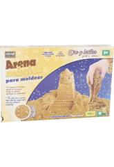 Sabbia Magica 396 gr. con accessori Golden Magic