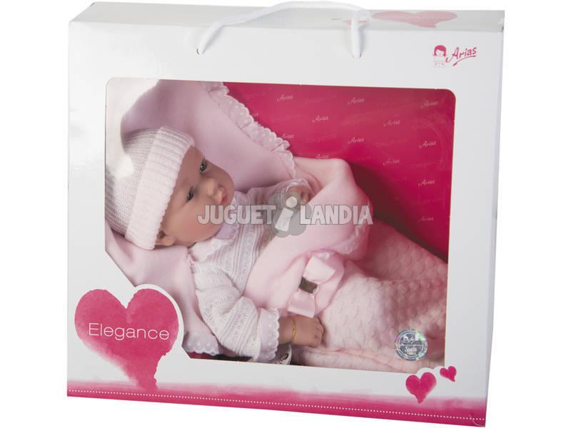 Muñeca Elegance 42 cm. Real Baby Rosa Arias 65137