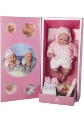 Boneca Reborn Mies Rosa 45 cm Arias 98027