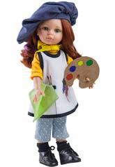 Bambola 32 cm Cristina Pintora Amigas Hobbies Paola Reina 4652