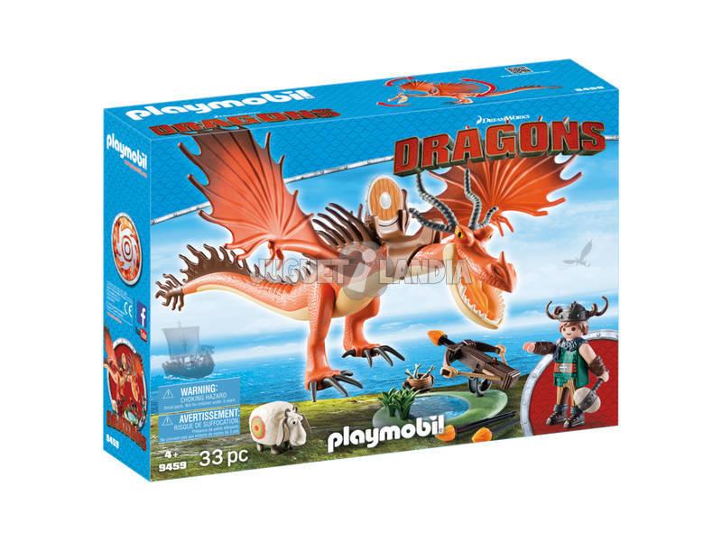 Playmobil Escarreta e Dente-de-anzol 9459