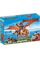 Playmobil Dragons Gambedipesce e Muscolone 9460