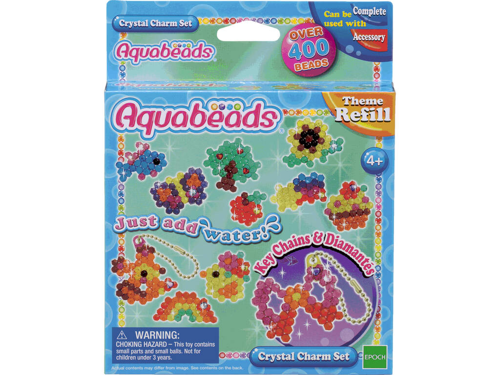 Aquabeads Crystal Charm Set Epoch para Imaginar 79288
