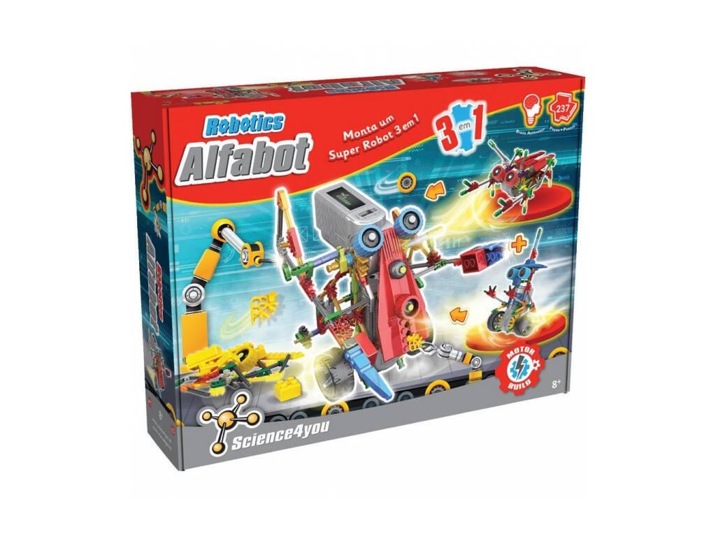 Robotics Alfabot 3 en 1 Science4you 60517