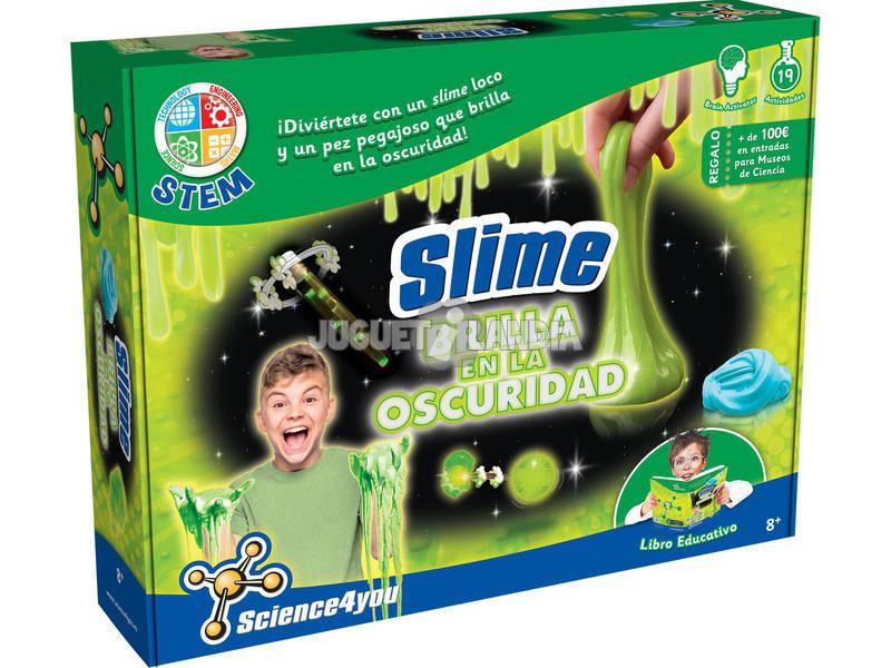 Slime Fabbrica Viscosa Brilla al Buio