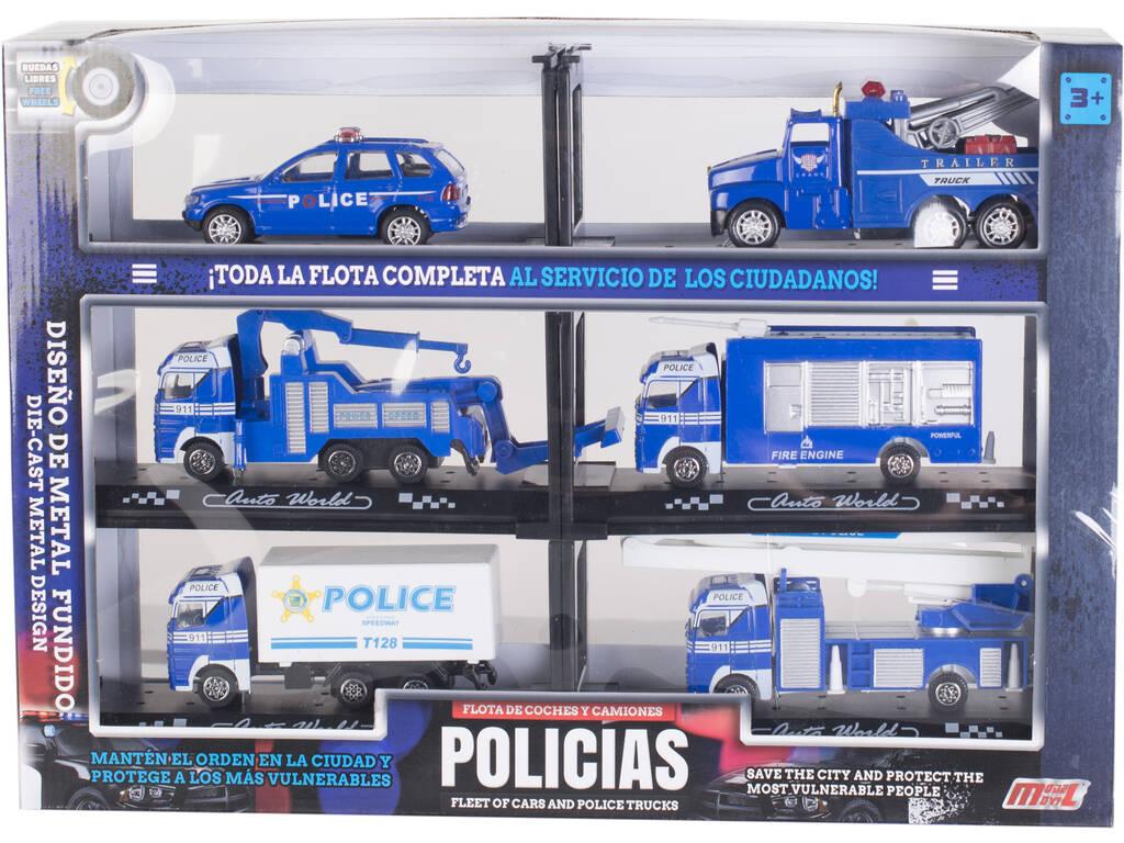 Veicoli della Polizia Flotta Completa