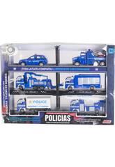 Véhicules de Police Flotte Complète