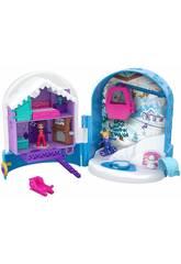 Polly Pocket Playset Tascabile Segreti Delle Nevi Mattel FRY37