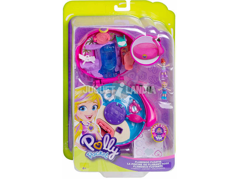 Polly Pocket Cofre Flamenco Flutuante Mattel FRY38