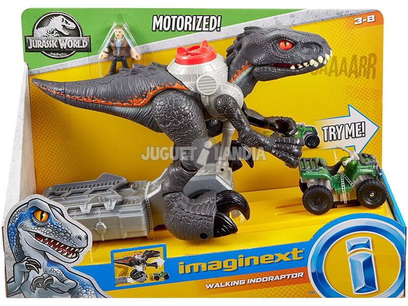 Jurassic World Imaginext walking Indoraptor Mattel FMX86
