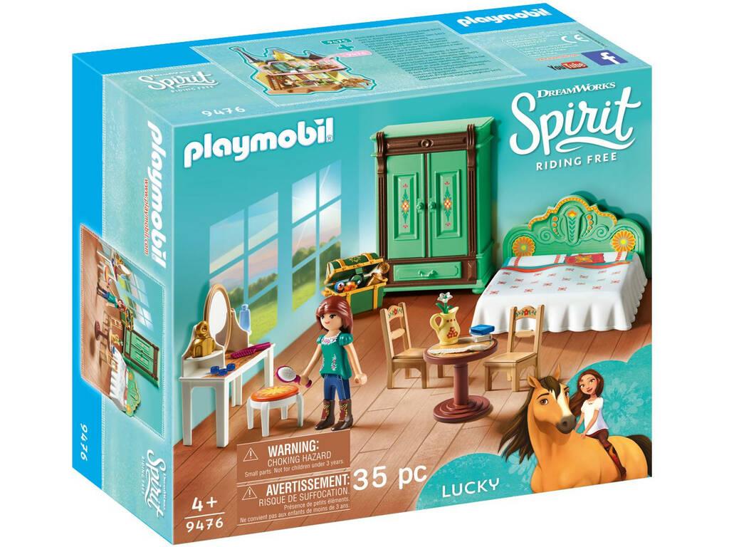 Playmobil Spirit Habitacion de Lucky 9476