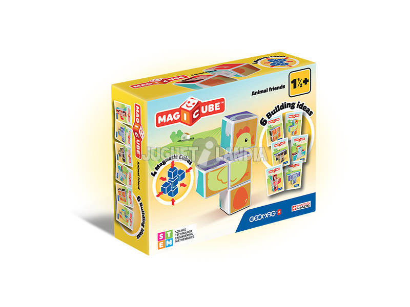 Geomag Magicube Animal Friends Toy Partner 132