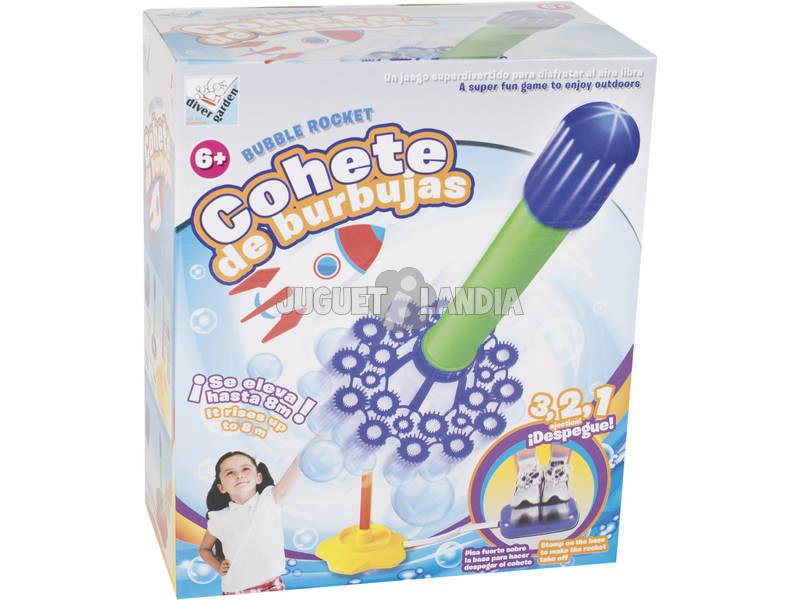 Foguete de bolhas com Líquido 240 ml.