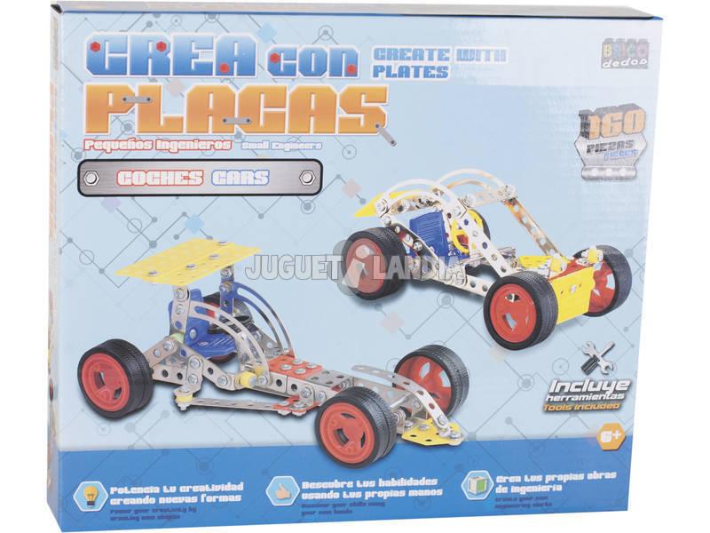 Vehiculos Construccion Metal 160 piezas