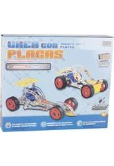 imagen Vehiculos Construccion Metal 160 piezas