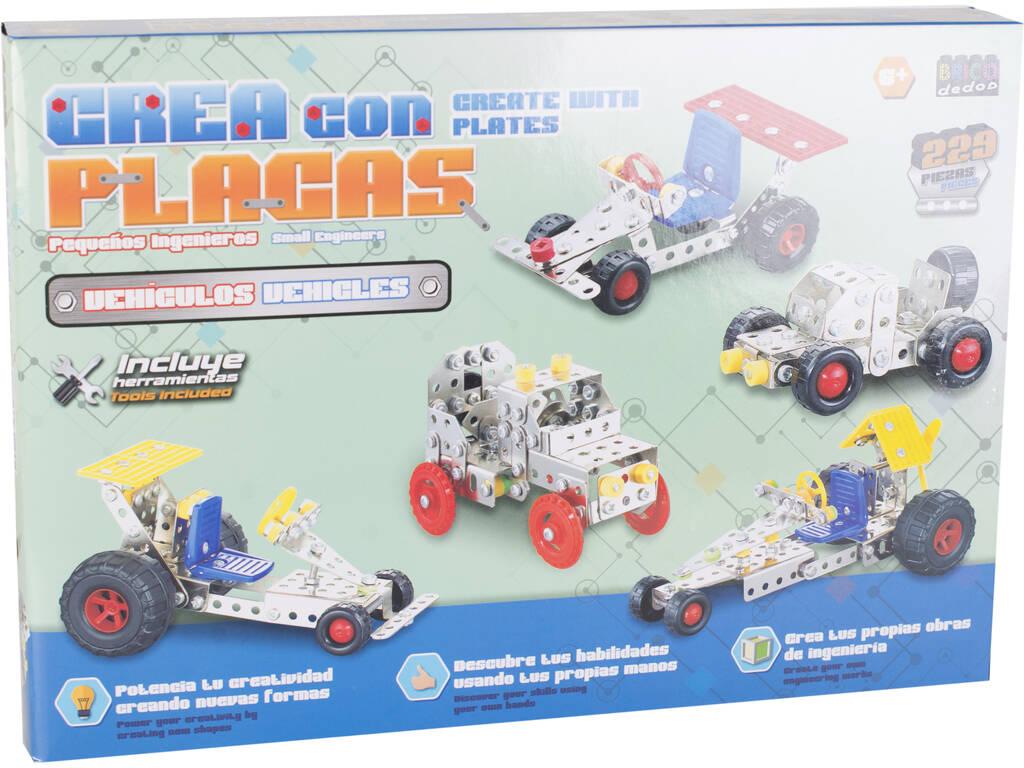 Veículos de Construção em Metal 229 peças