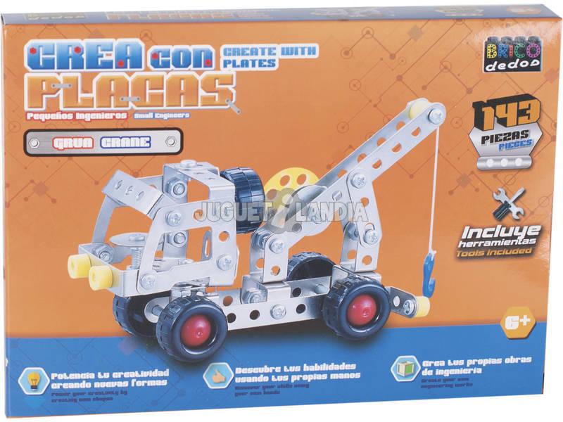 Vehiculos Construccion Metal 143 piezas
