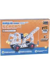 imagen Vehiculos Construccion Metal 143 piezas