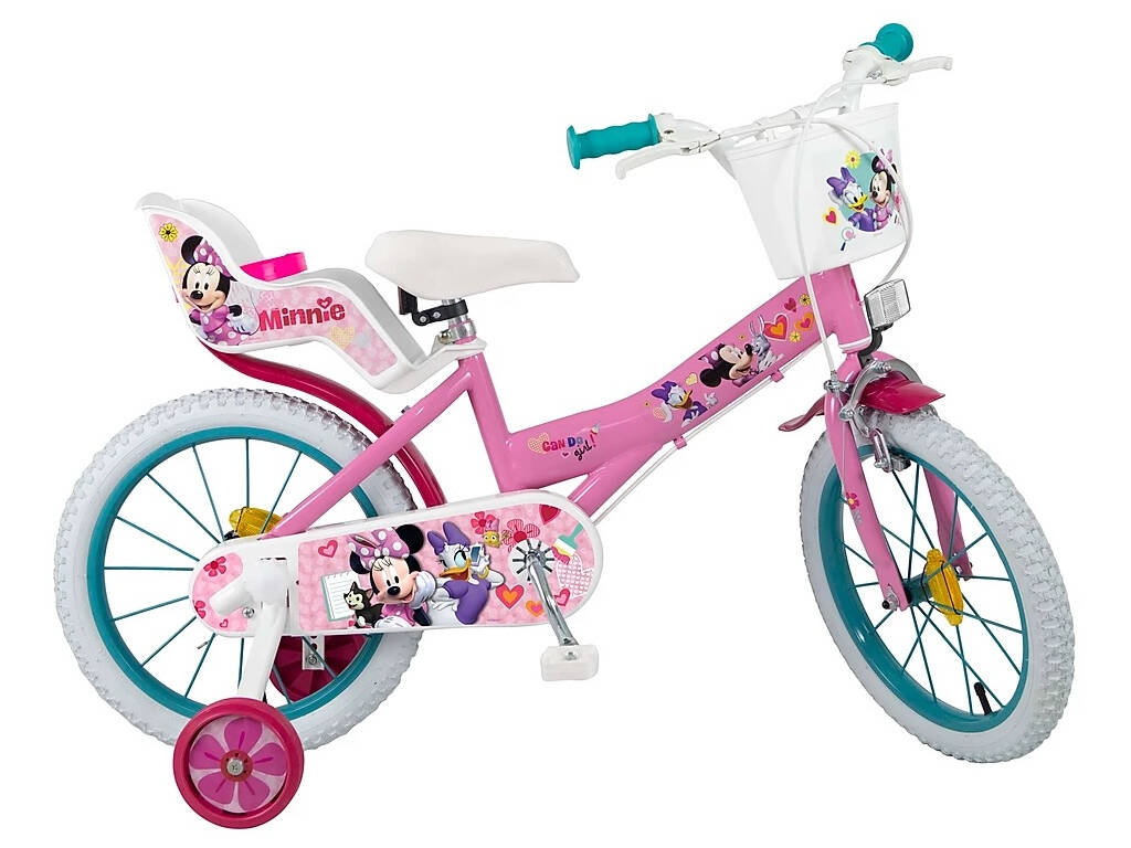 Bicicleta 16 Minnie Club House Toimsa 615