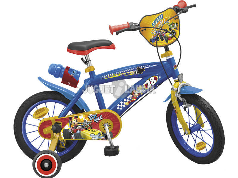 Bicicletta Mickey and the Roadster Racers 16