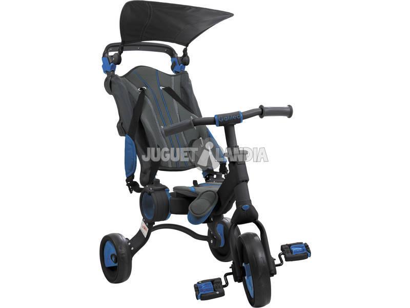 Triciclo Galileo Negro y Azul Toimsa 50512
