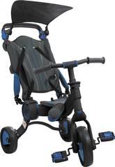 imagen Triciclo Galileo Negro y Azul Toimsa 50512