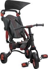 imagen Triciclo Galileo Negro y Rojo Toimsa 50516