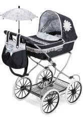 Puppenwagen Klappbar Blau Classic Romantic De Cuevas 81025