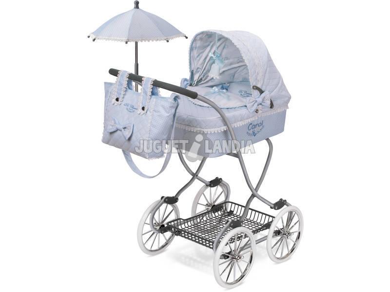Carro de Muñecas Con Paraguas Carol De Cuevas 80222