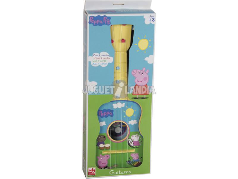 Peppa Pig Guitarra 4 Cuerdas Reig 2339
