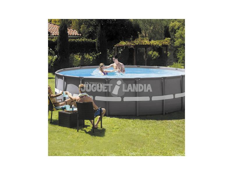 Piscina fuori terra 488x122 cm intex 26324 juguetilandia for Comprare piscina fuori terra